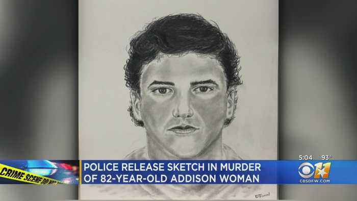 Sketch Released Of Man With 'Information In Connection' With Addison Homicide Of Elderly Woman