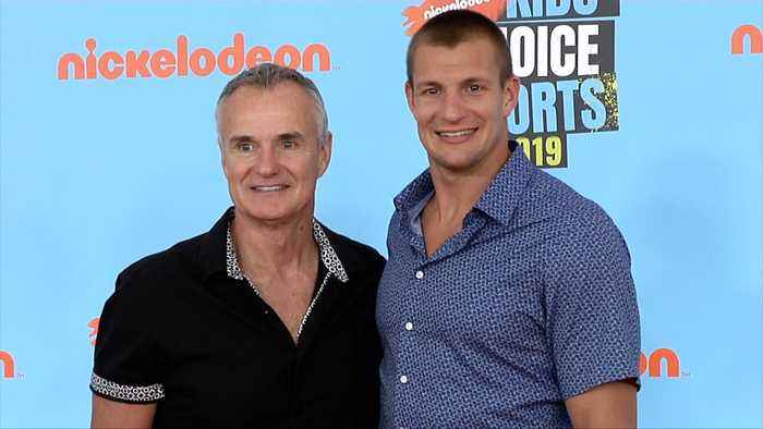 Rob Gronkowski 'Kids' Choice Sports 2019' Orange Carpet