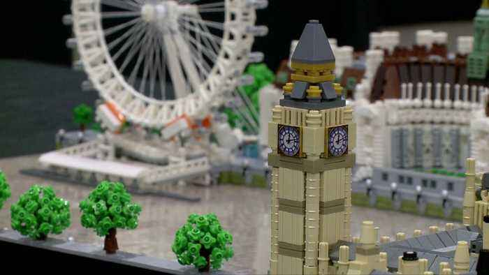 Lego Fan Convention Brings Larger Than Life Sculptures to St. Louis