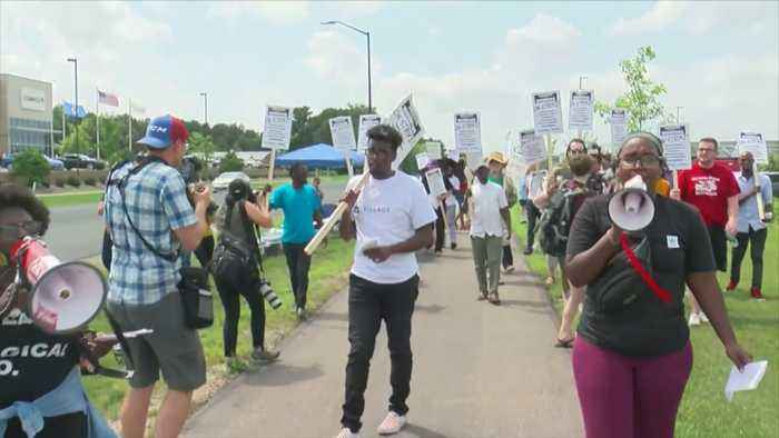 Fulfillment Workers Strike On 'Prime Day'