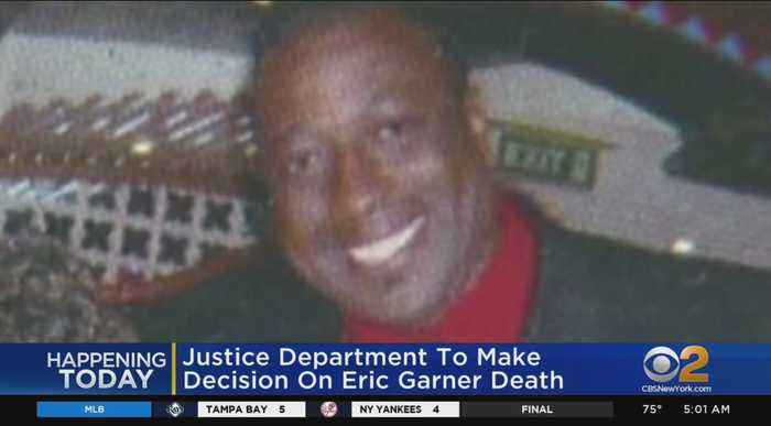 Feds Expected To Announce Decision In Eric Garner's Death