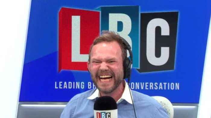 James O'Brien Hilarious Row With Caller Over Trump's Racist Tweets