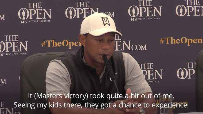 Tiger Woods: I keep reliving Masters victory