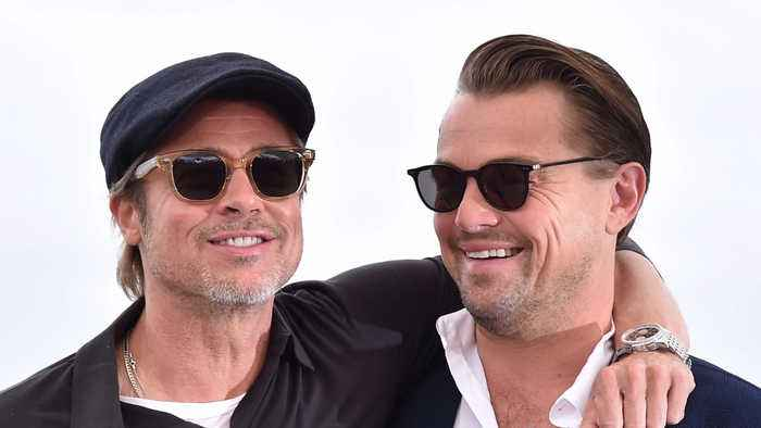 Brad Pitt and Leonardo DiCaprio had no ego issues working with each other on Tarantino film