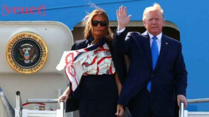 Melania Trump Remains Silent as Her Husband Attacks Four Congresswomen By Implying They Aren't American Citizens