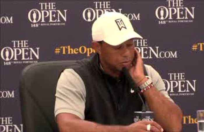 Woods defends his lack of golf ahead of British Open