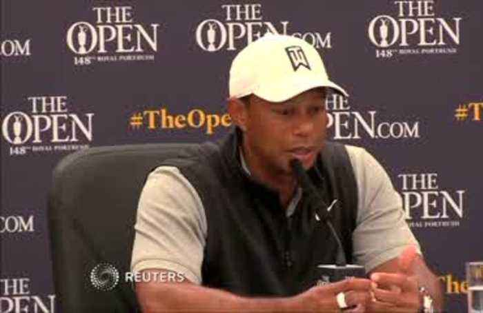 Tiger Woods taking care, readies for British Open