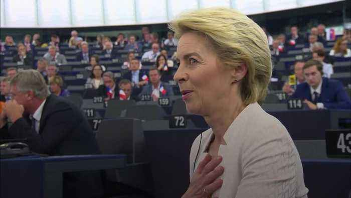 Ursula von der Leyen first woman confirmed as head of European Commission