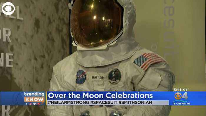 Trending: Neil Armstrong's Suit On Display