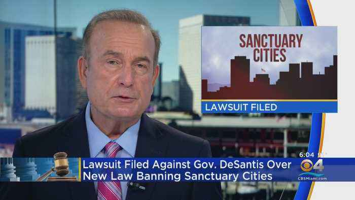 Florida Governor Sued Over Sanctuary Policy Ban