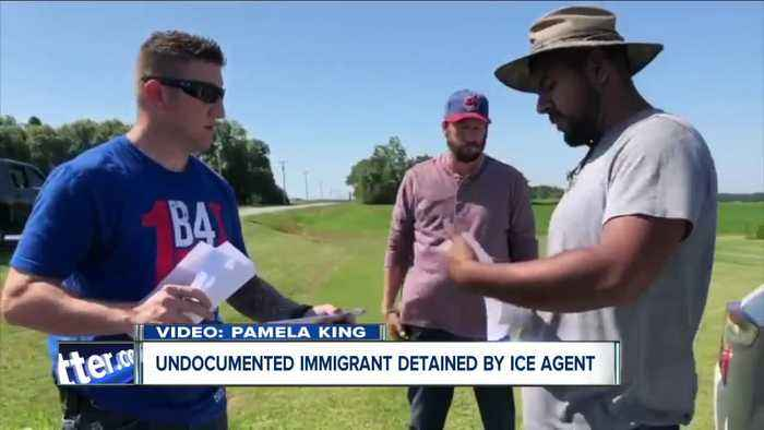 Man taken into custody by ICE agents in Orleans County