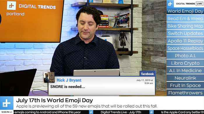 Digital Trends Live - 7.17.19 - New Emojis Are Coming + Hasselblad Space Cameras