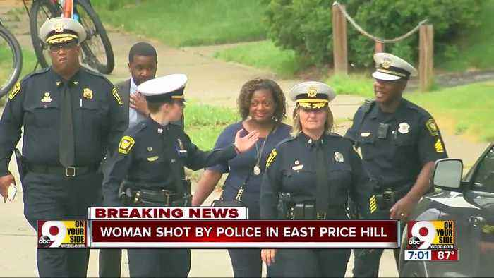 Police shoot woman with knife in East Price Hill