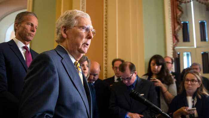 Senate Republican McConnell speaks out about Donald Trump's comments