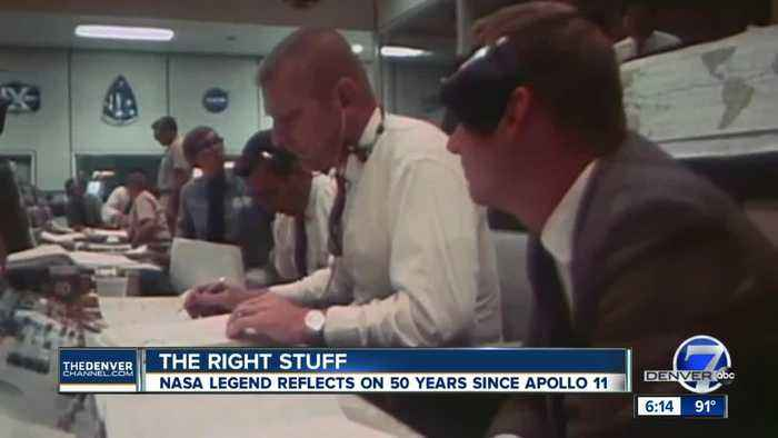 Mission control flight director recounts Apollo 11 launch on 50th anniversary