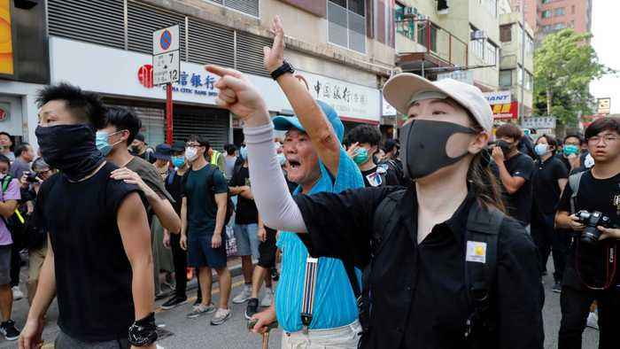 Hong Kong protests: Anti-government activists vow to fight on