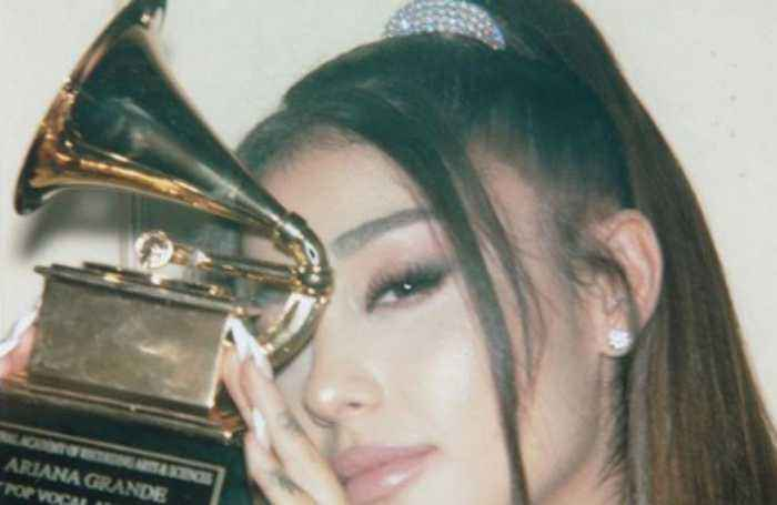 Ariana Grande finally gets Grammy Award