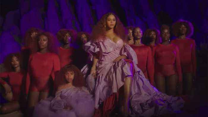 Beyonce Shares Stunning Video For 'Spirit' From 'The Lion King' | Billboard News