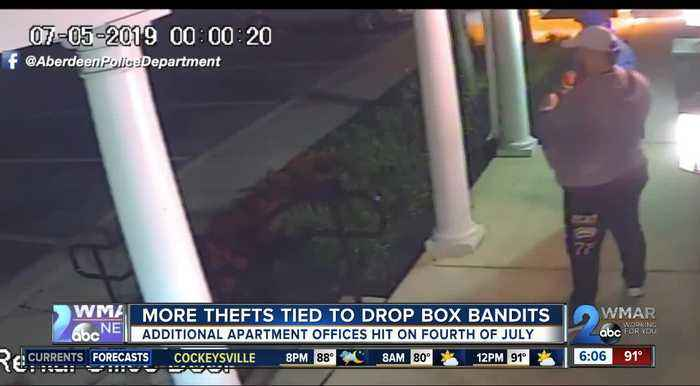 More thefts tied to drop box bandits