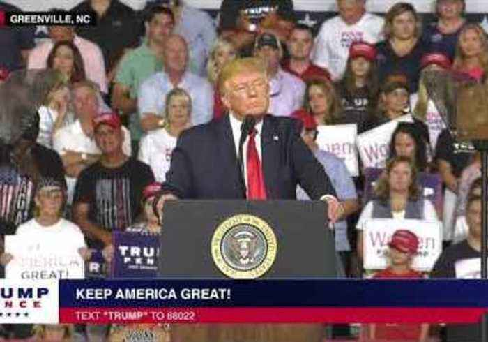 Crowd at Trump Rally Chants 'Send Her Back' as President Slates Ilhan Omar