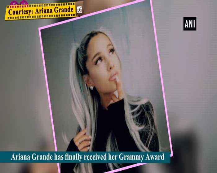 Ariana Grande finally gets her Grammy 5 months after big win
