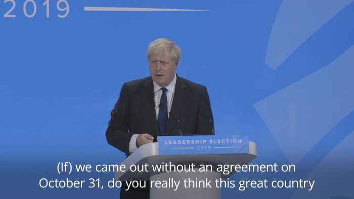 Boris Johnson and Jeremy Hunt talk Brexit in final pitches to become PM