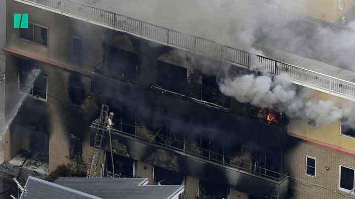Several Dead In Fire At Japan Anime Studio