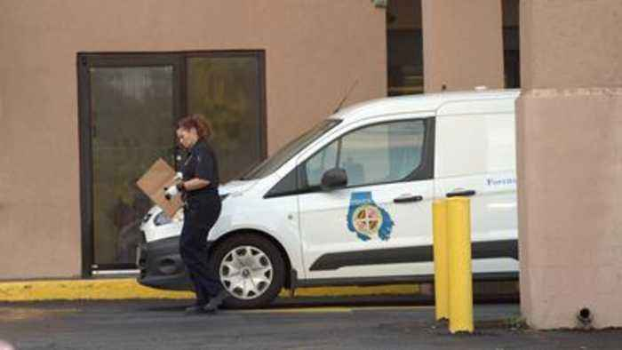 Baltimore County Police investigating a homicide after finding a man dead in a Towson hotel