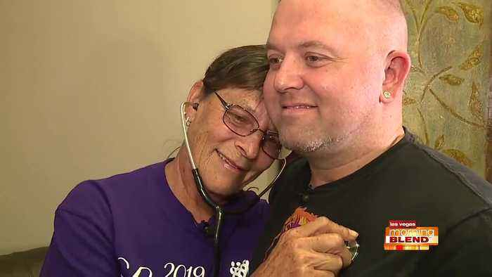 Mother connects with daughter's heart recipient
