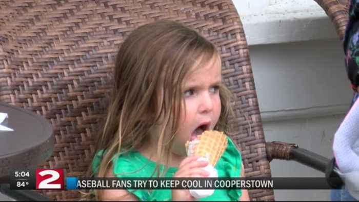 Hot, hot, hot: Hall of Fame weekend expected to be a scorcher for fans in Cooperstown