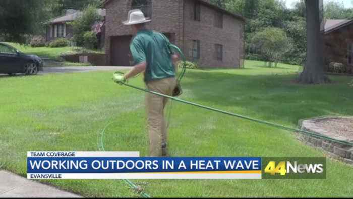 Outdoor Workers Dealing With Heat Wave and Dangerous Temperatures