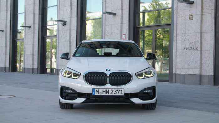 The all-new BMW 1 Series Exterior Design