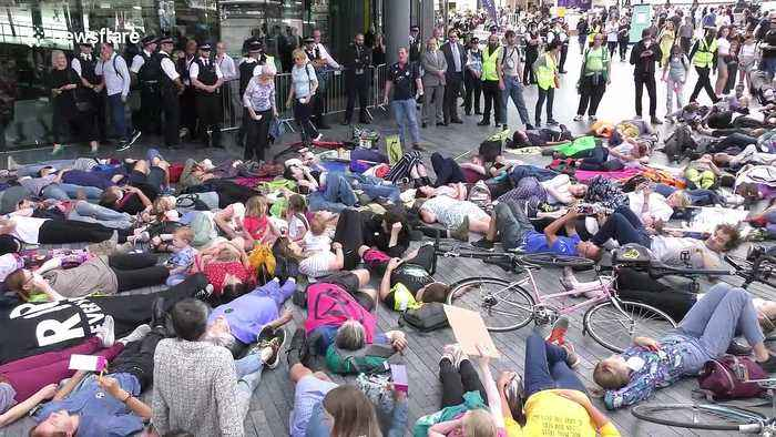 Extinction Rebellion calls for a 'tax strike' in London