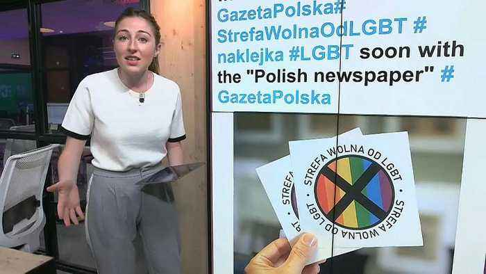 Polish newspaper criticised over plans to print 'LGBT free zone' stickers | #TheCube