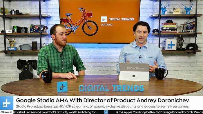 Digital Trends Live - 7.19.19 - Bringing Sight To The Blind With eSight + The Mid-Engine Corvette