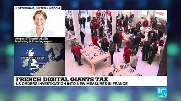 French digital giants tax : US orders investigation into new measures in France