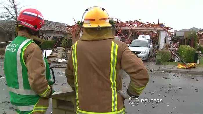 New Zealand gas explosion injures several people