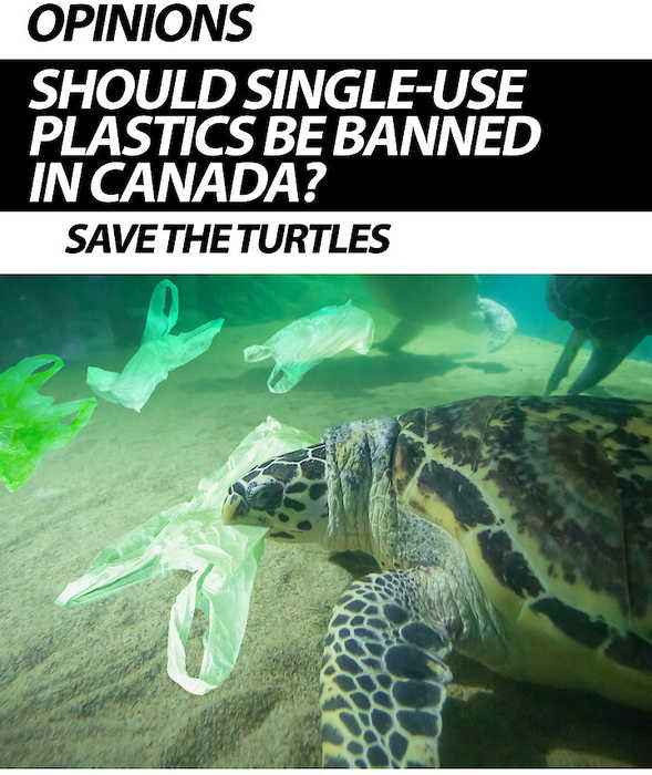 Should Single-use Plastics Be Banned In Canada?