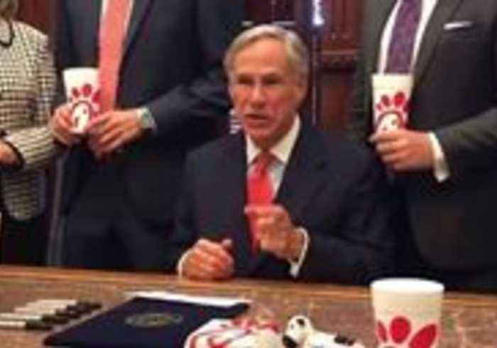 Texas Governor Signs 'Chick-fil-A' Law He Says Will Protect Religious Freedom