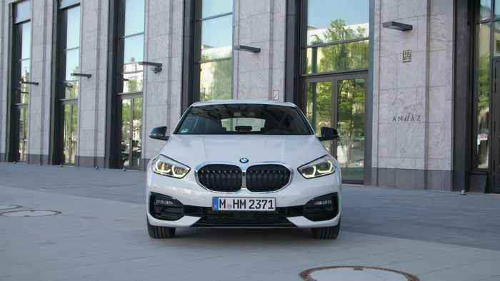The all-new BMW 1 Series Design Preview