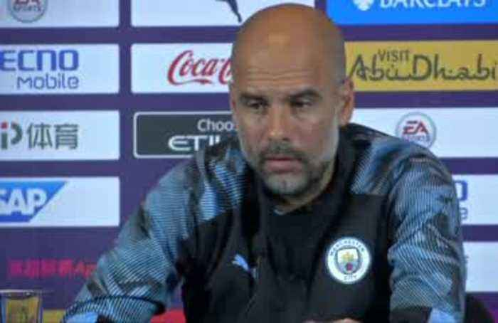 Guardiola plays down Sane's Bayern link