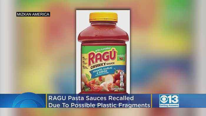 RAGÚ Pasta Sauces Recalled Due To Possible Plastic Fragments
