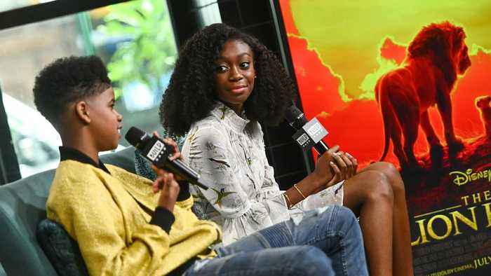 Experiencing 'The Lion King' In VR Helped JD McCrary & Shahadi Wright Joseph Prepare For Their Roles