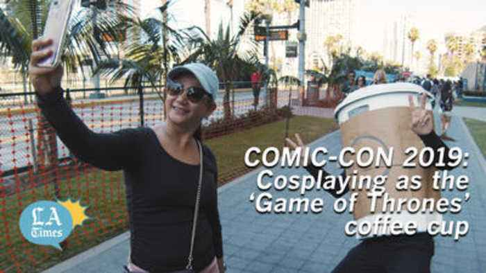 Comic-Con 2019: Cosplaying as the 'Game of Thrones' coffee cup