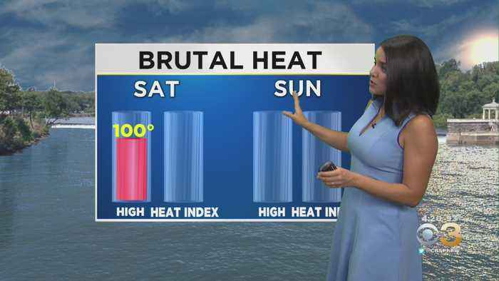 Philadelphia Weather: Feeling Like 115 Degrees At Times This Weekend