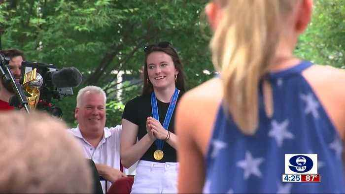 Cincinnati honors soccer star Rose Lavelle, declare July 19 Rose Lavelle Day