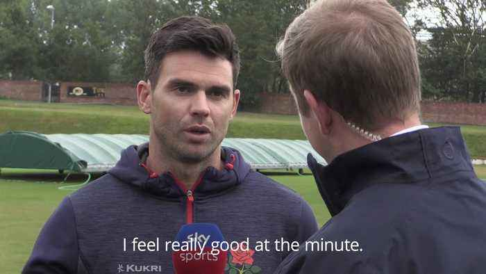 James Anderson hoping to prove Ashes fitness in Ireland Test