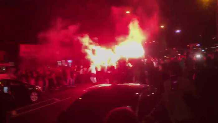 Algeria fans in London go wild after Africa Cup of Nations triumph