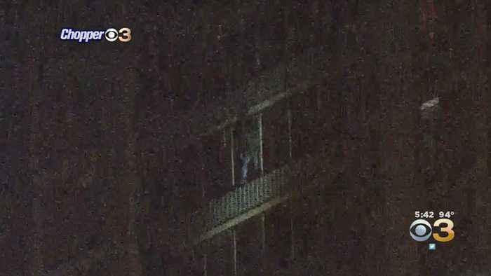 Man Scales West Philadelphia High Rise Building After Reports Of Fire