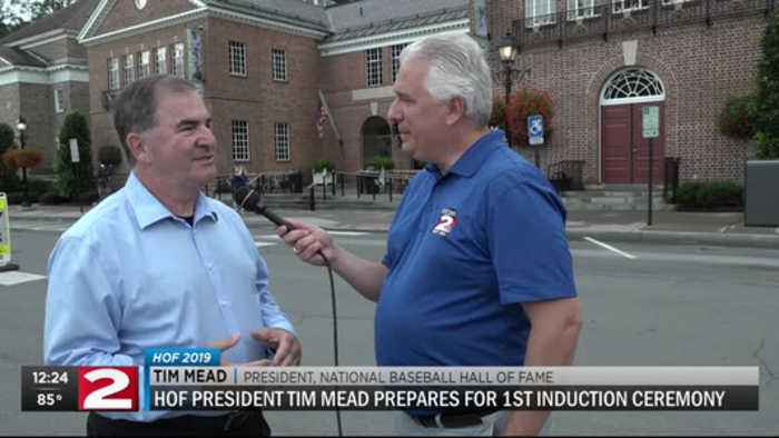 Baseball HOF President Tim Mead weighs in on first induction ceremony